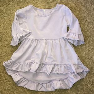 Other - Periwinkle hi-lo top size 5 play condition